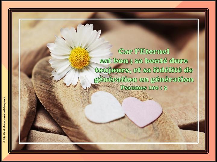 Ronde Versets du coeur 168