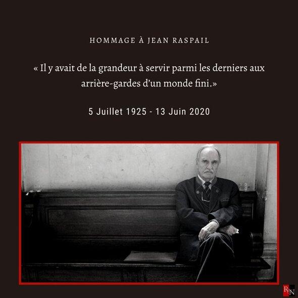 J. Raspail (5-07-1925/13-06-2020)