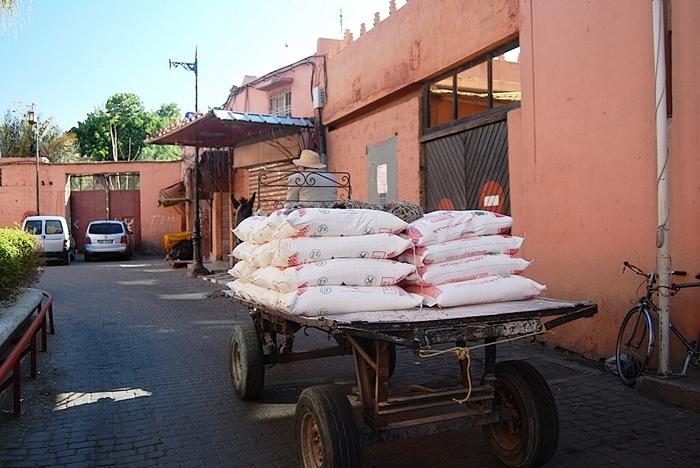 Moyens de locomotion à Marrakech
