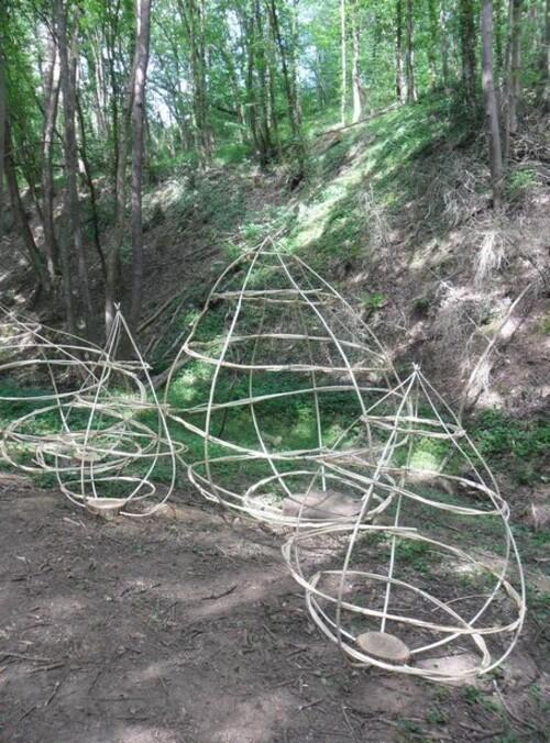 "Seyssuel. Le sentier ""Art-Nature 2019"" (2)."