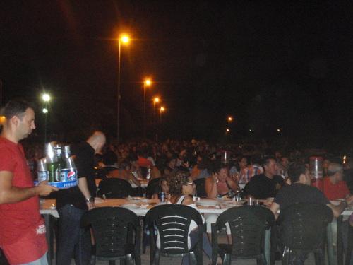 La pizzeria du port de Rocella Ionica