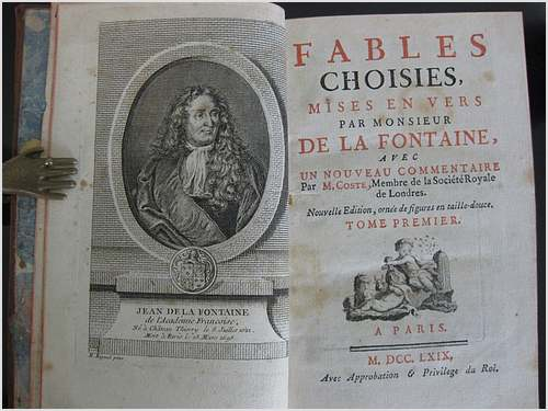 8 juillet 1621 : naissance de Jean de la Fontaine
