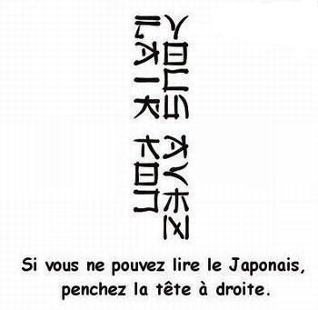 savais vous lire le japonais