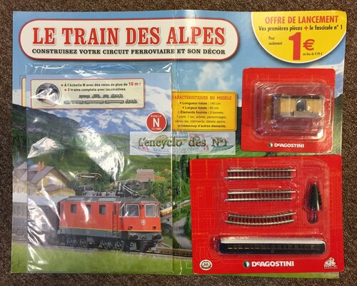N° 1 Construisez le train des Alpes - Test