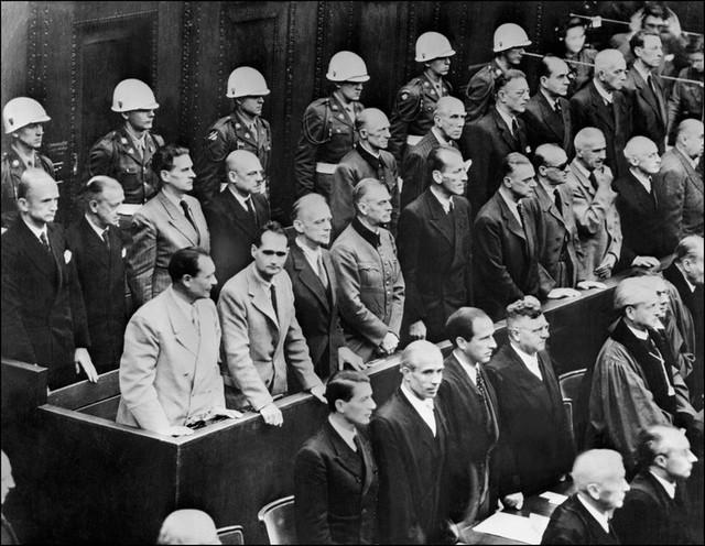 1er octobre 1946, le verdict du procès de Nuremberg