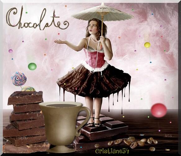 Défi chocolat pour cerise déco !