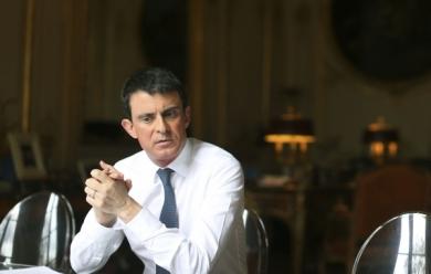 Manuel Valls à Matignon.