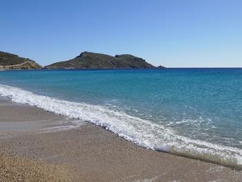 Et voilà la plage de Briande. magique, non ?