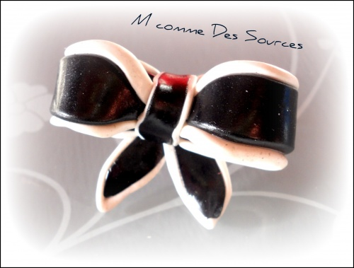 Bague Black & White