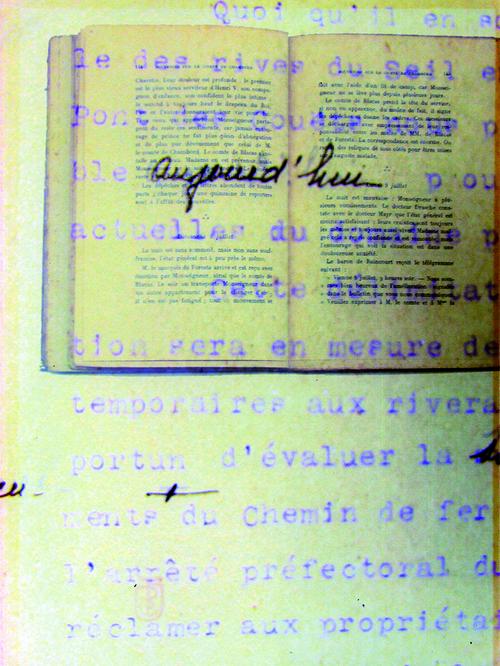 Archives sédimentales  #03 © Delphine Soustelle Truchi