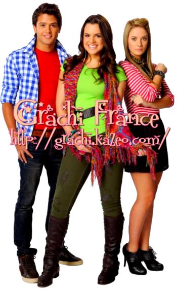Grachi, Matilda et Daniel