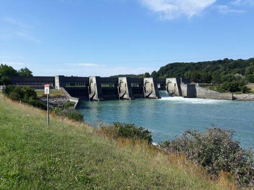 Barrage de Villebois