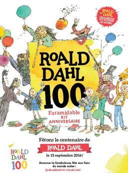 100 ans de Roal Dahl