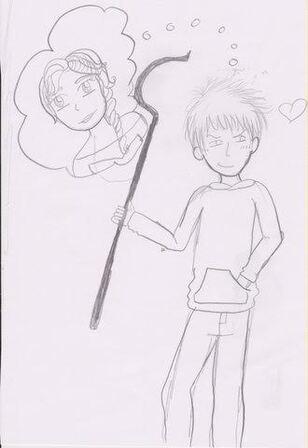 Mon dessin pour le concours Jelsa