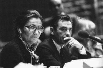 Simone Veil (photo par Claude Truong-Ngoc 1979)