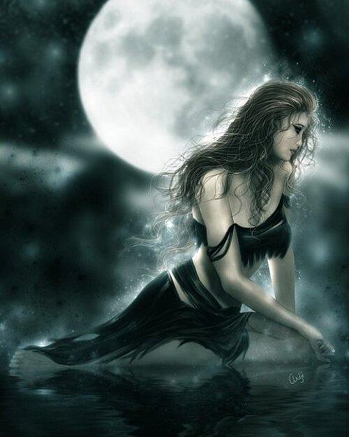 A la Dame de la Nuit.