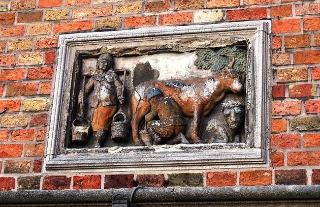 Bruges, les maisons anciennes