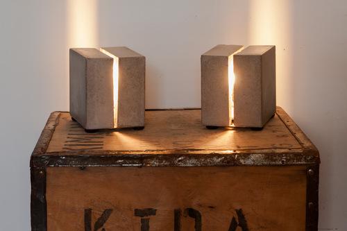 Nos nouvelles lampes en béton chez Ludovik
