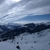 Du sommet du pic Barsaut, Gabizos, Ger, Gerbe et Midi d\'Ossau