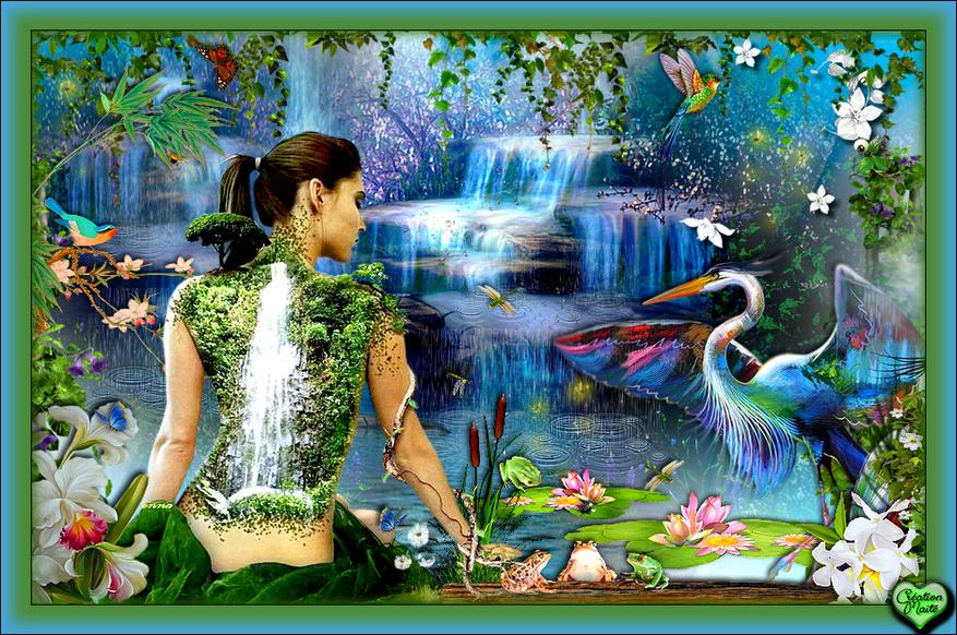 Dans la nature l'amour est partout...