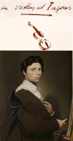 Les mots Le violon d'Ingres