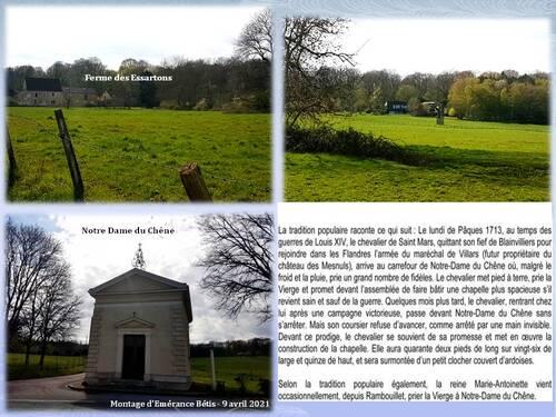 Boucle de 6 km Montfort l'Amaury - Les Mesnuls