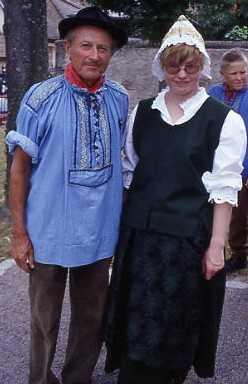 Couple de Mittelwirh et de Holtzwihr