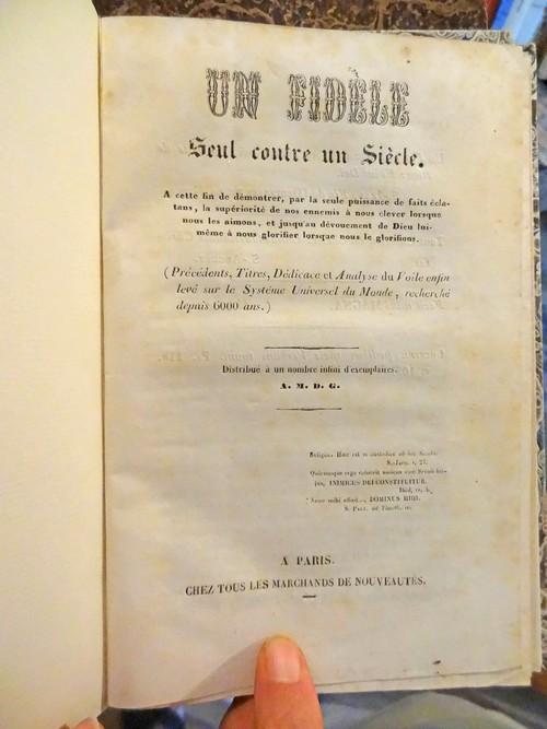 Antoine Madrolle, fou littéraire ou prophète en Châtillonnais ?