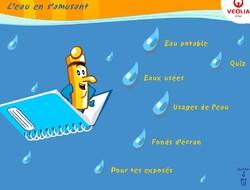 Activités en ligne autour de l'eau potable