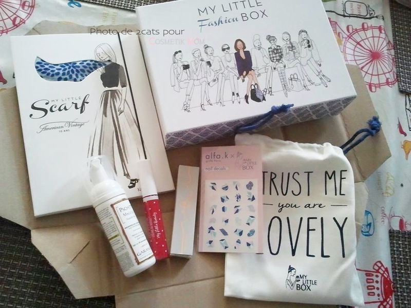 My Little Box Septembre 2015 - Spoilers