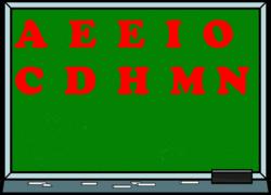 Le jeu de lettres de Lady Marianne no 114