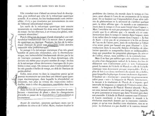Laurent NOTTALE Ouvrage 230/...