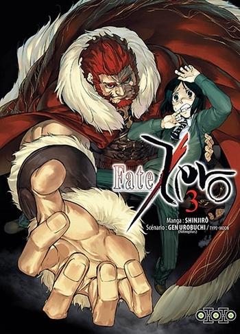 Fate zero - Tome 03 - Takashi Takeuchi & Gen Urobushi