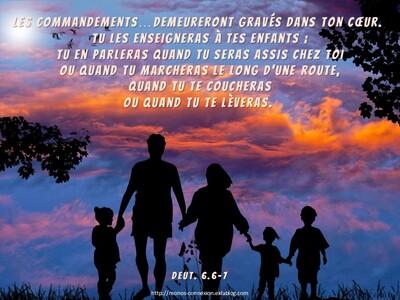 Calendrier Biblique - J'aime ma famille (5)