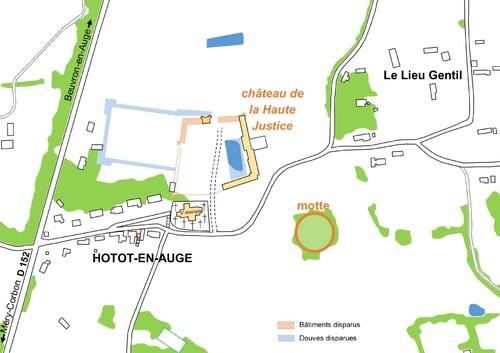 LES REMPARTS DE HOTTOT ET BEUVRON-en-A. (Calvados)