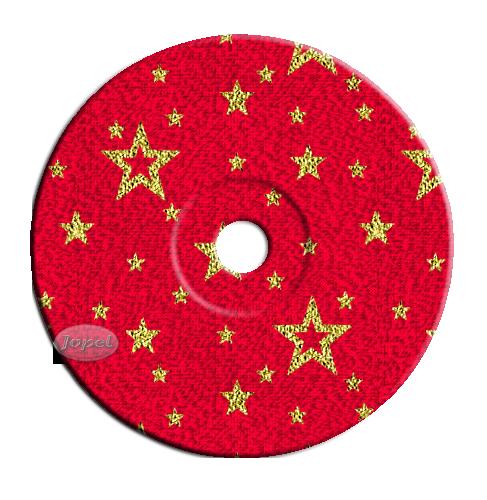 Les CD de Noël pour déco par Jopel