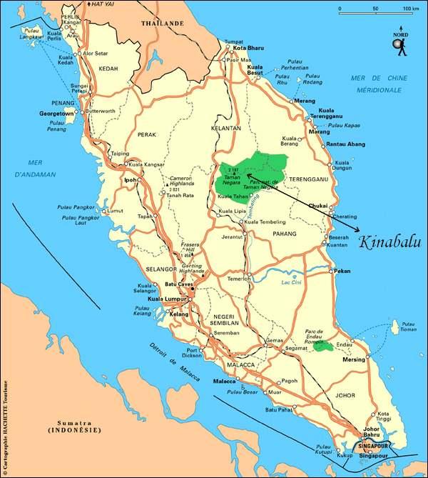 Patrimoine mondial de l'Unesco : Le parc national de Kinabalu - Malaisie -