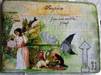 Mail Art d'Avril sur MMF