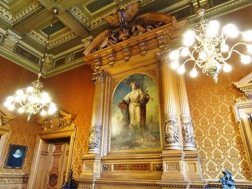 Hambourg: intérieur du Rathaus (photos)