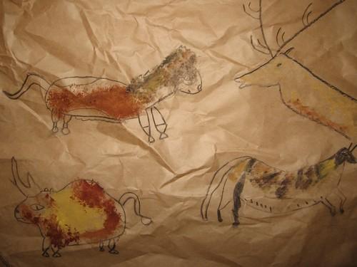 La grotte préhistorique des CM1-CM2