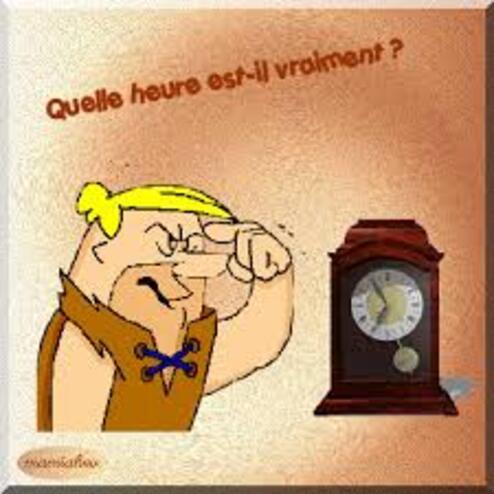 C'EST LE CHANGEMENT D'HEURE..!!!