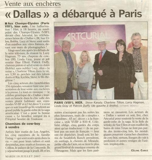 Dallas,la grande soeur de Côte ouest.