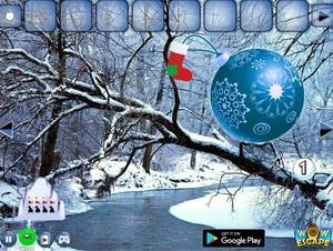 Jouer à Christmas ball forest escape