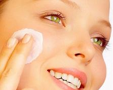 Nettoyage peau sèche