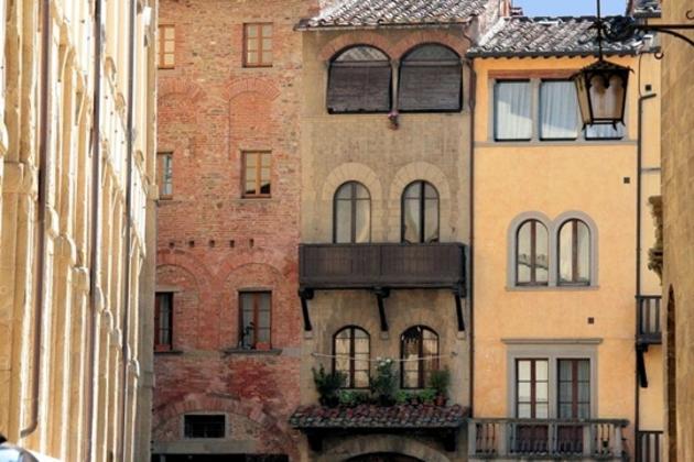 Arezzo, entre art et nature