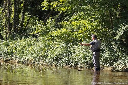 """Histoire de pêche - """"Cette truite qui marsouinait..."""""""
