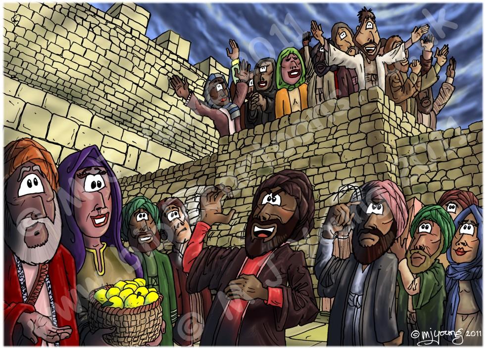 Acts 02 - Pentecost - Scene 07 - Ridicule