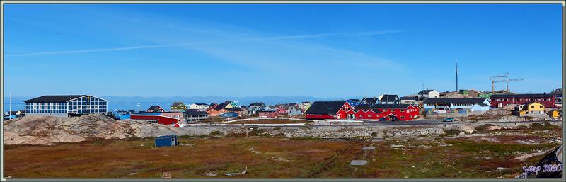 La banlieue d'Ilulissat - Groenland