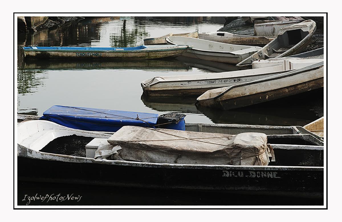 Barques de pêcheurs au repos
