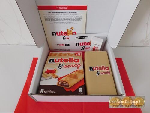 Nouveau colis partenariat : Nutella B-ready